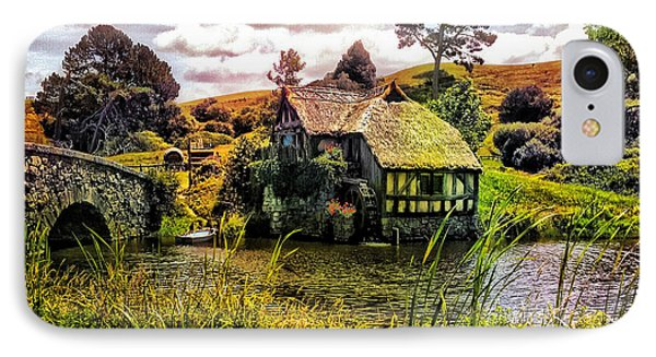 Hobbiton Mill And Bridge IPhone Case by Kathy Kelly