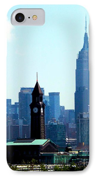 Hoboken And New York IPhone Case by James Aiken