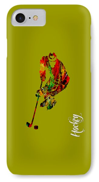 Hockey Collection IPhone Case by Marvin Blaine
