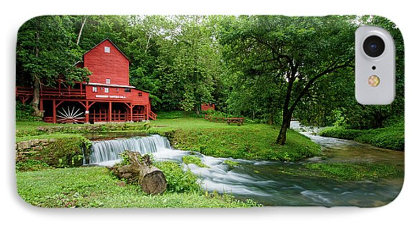 Hodgson Water Mill And Spring IPhone Case by Cricket Hackmann