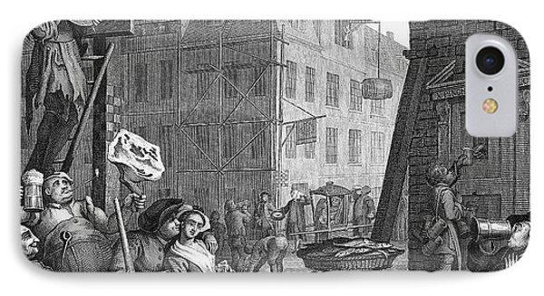 Hogarth: Beer Street Phone Case by Granger
