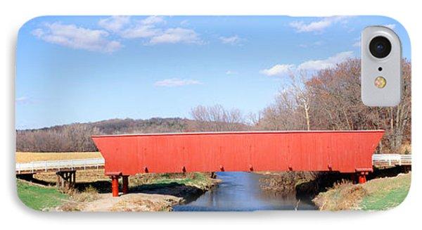 Hogback Covered Bridge, Madison County IPhone Case