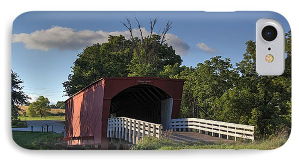 Roseman Covered Bridge IPhone Case by Thomas Danilovich