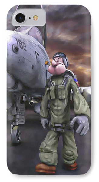 Hogman IPhone Case by Dave Luebbert