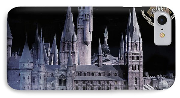 Hogwards School  IPhone Case by Gina Dsgn