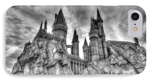 Hogwarts Castle 1 IPhone Case by Jim Thompson