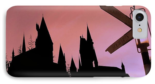 IPhone Case featuring the photograph Hogwarts Castle by Juergen Weiss