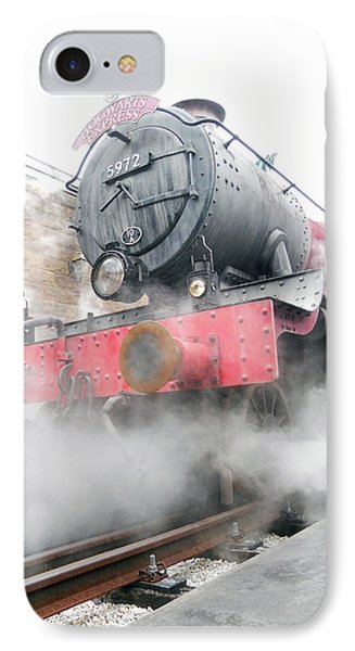 IPhone Case featuring the photograph Hogwarts Express Train by Juergen Weiss