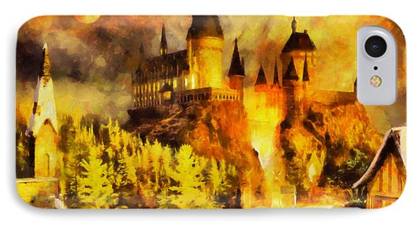 Hogwarts Phone Case by George Rossidis