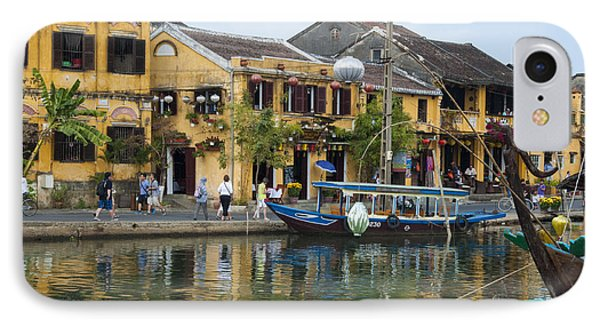 Hoi An On The River IPhone Case by Rob Hemphill