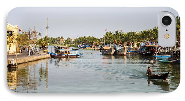 Hoi An River IPhone Case by Rob Hemphill