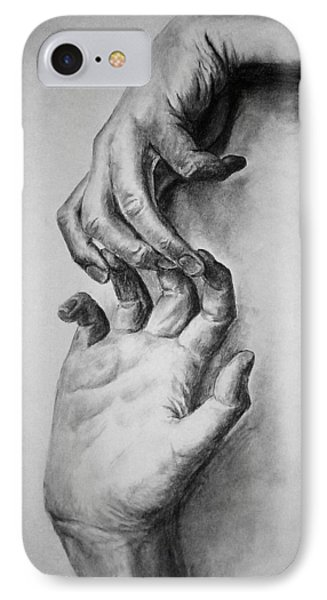 Hold On IPhone Case by Rachel Hames