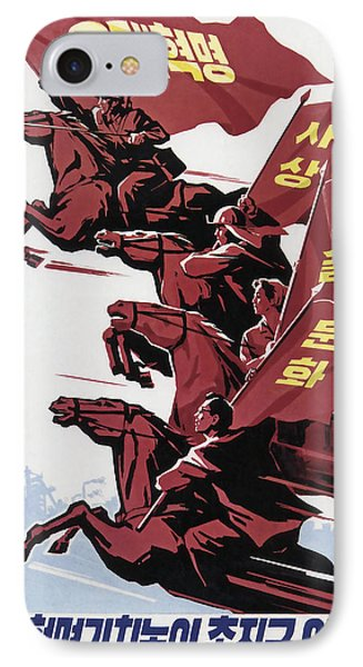 Hold The 3 Revolutions Banner High IPhone Case by Daniel Hagerman