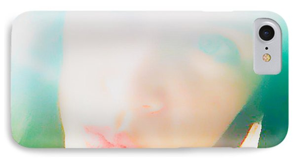 Hold Your Breath Phone Case by Amanda Barcon
