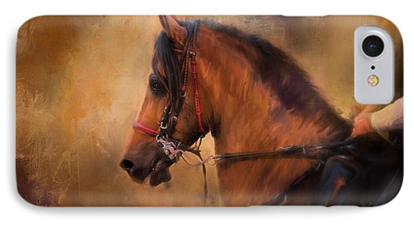 Hold Your Head High Horse Art IPhone Case by Jai Johnson
