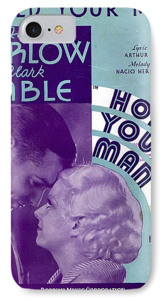Hold Your Man Phone Case by Mel Thompson