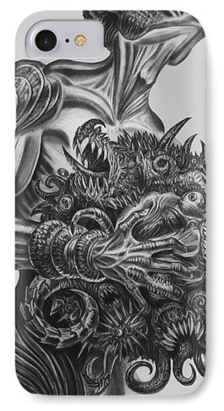 Holding A Grudge  IPhone Case by Tony Koehl