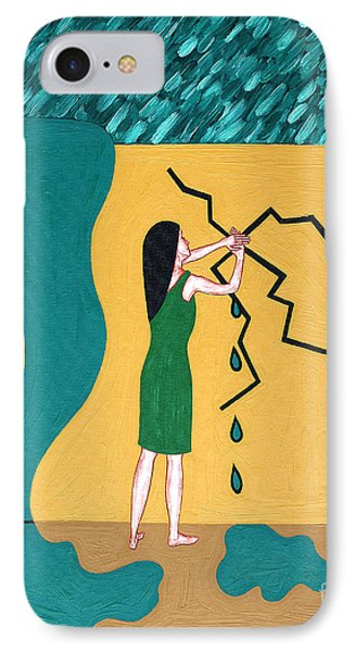 Holding Back The Flood Phone Case by Patrick J Murphy