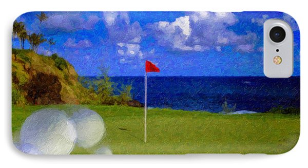 IPhone Case featuring the photograph Fantastic 18th Green by David Zanzinger