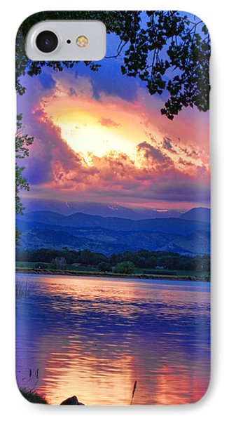 Hole In The Sky Sunset Phone Case by James BO  Insogna