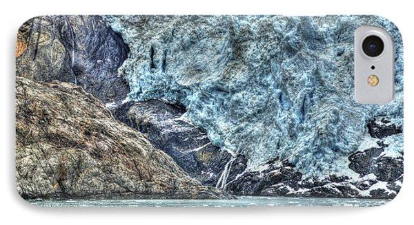 Holgate Glacier Hdr IPhone Case by Richard J Cassato