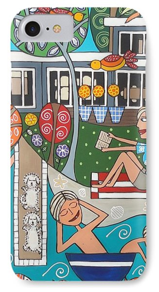 Holiday House IPhone Case