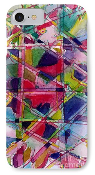 Holiday Rush IPhone Case by Jan Bennicoff