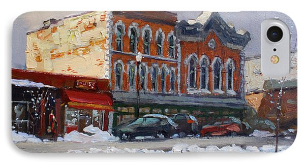 Holiday Shopping In Tonawanda IPhone Case by Ylli Haruni