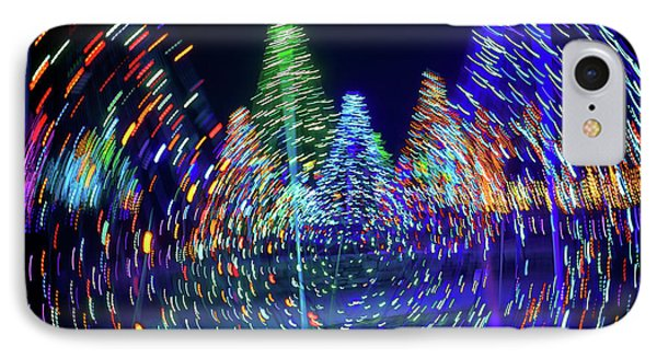 Holidays Aglow Phone Case by Rick Berk
