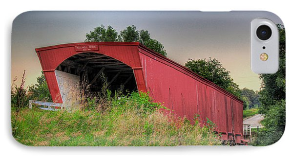 Holliwell Covered Bridge IPhone Case