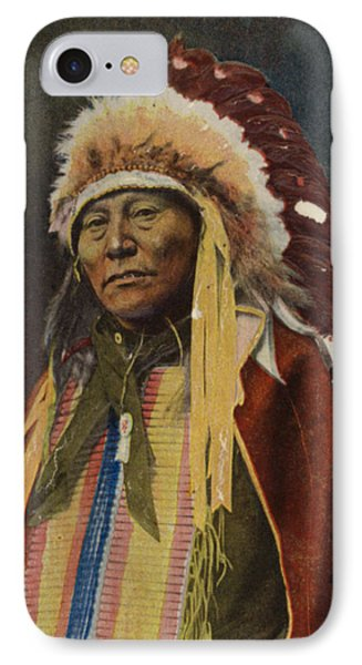 Hollow Horn Bear IPhone Case by American School