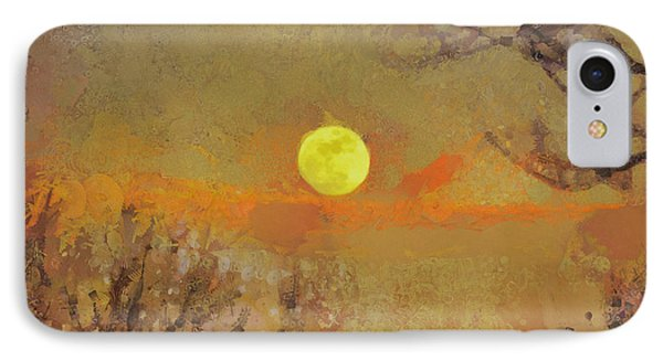 IPhone Case featuring the mixed media Hollow's Eve by Trish Tritz