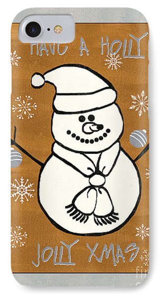 Holly Holly Xmas IPhone Case by Debbie DeWitt