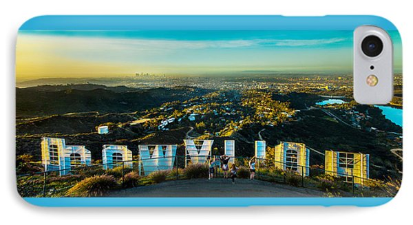 Hollywood Dreaming IPhone Case by Az Jackson