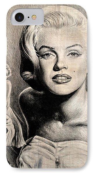 Hollywood Greats Marilyn Monroe IPhone Case