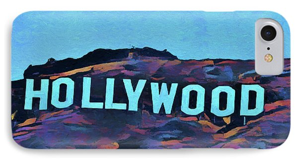 Hollywood Pop Art Sign IPhone Case