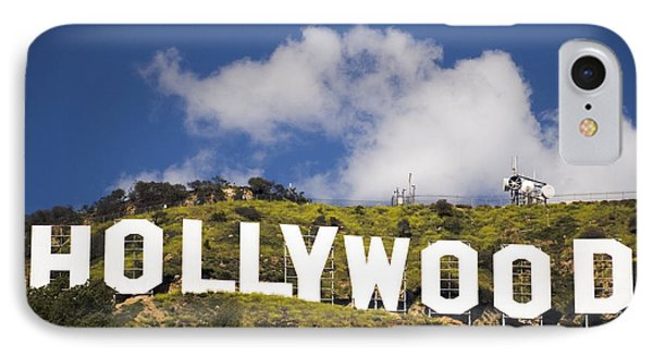 Hollywood Sign Phone Case by Anthony Citro