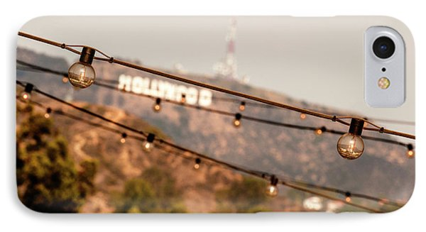Hollywood Sign On The Hill 2 IPhone Case by Micah May