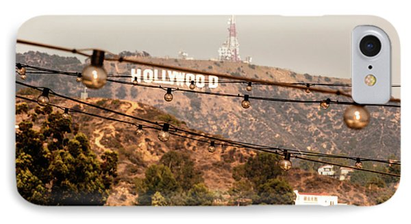Hollywood Sign On The Hill 3 IPhone Case by Micah May