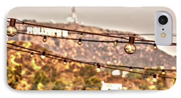 Hollywood Sign On The Hill 6 IPhone Case by Micah May