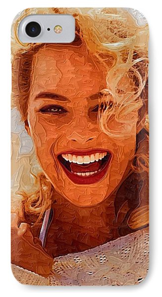 Hollywood Star Margot Robbie IPhone 7 Case