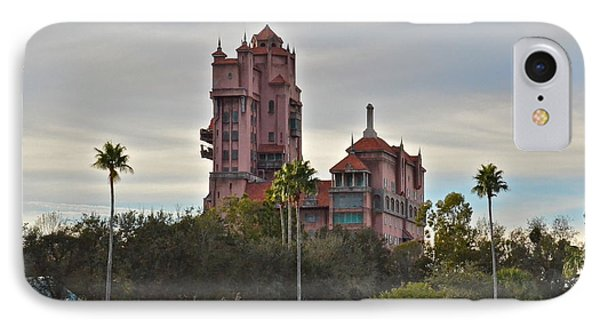 Hollywood Studios Tower Of Terror IPhone Case by Carol  Bradley