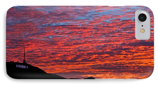Hollywood Sunrise IPhone Case by Kim Wilson