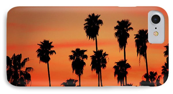 Hollywood Sunset Phone Case by Mariola Bitner