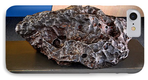 Holsinger Meteorite 001 IPhone Case by George Bostian