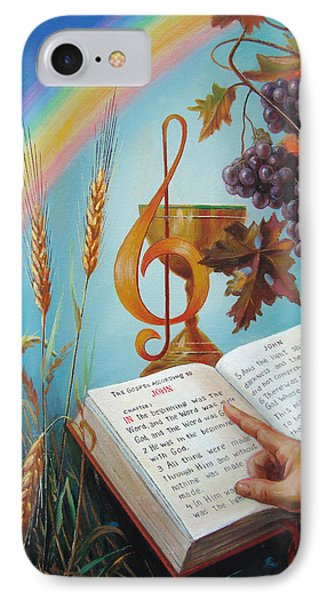 Holy Bible - The Gospel According To John Phone Case by Svitozar Nenyuk