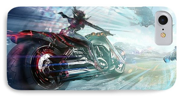 Holy Crap That Is Fast. IPhone Case by Lawrence Christopher