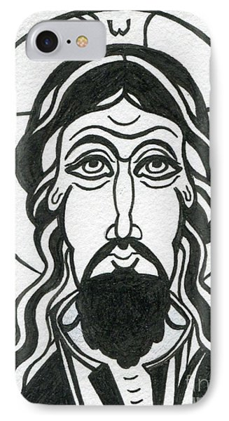 Holy Face Of Jesus IPhone Case by Danielle Tayabas
