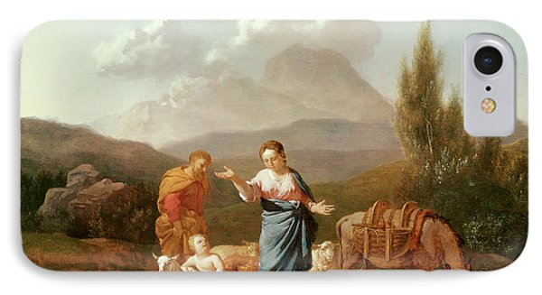 Holy Family At A Stream Phone Case by Karel Dujardin
