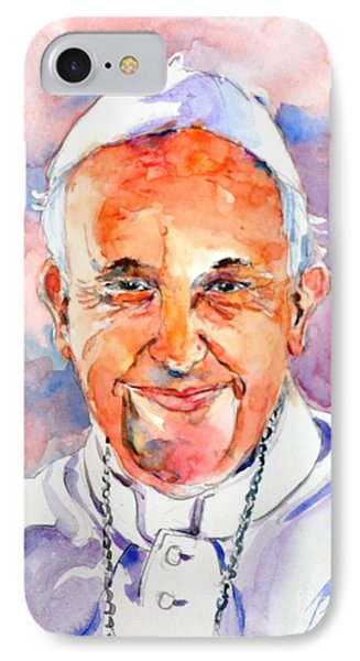 Holy Father #1 IPhone Case by Betty M M Wong